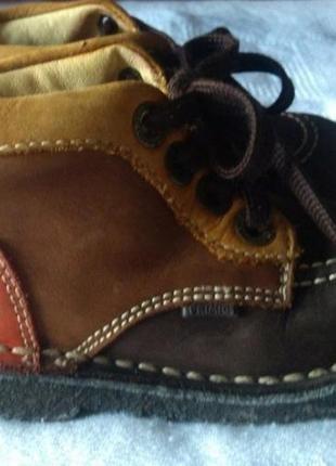 ☃️ акция 🔥 1+1=3 кожаные высокие ботинки р. 23