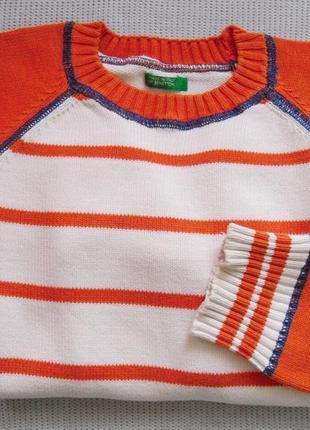 Кофта пуловер светрик на мальчика 5 лет на хлопчика італія ben...