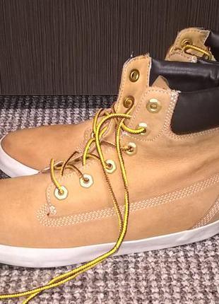 Ботинки timberland кожа нубук. размер 37