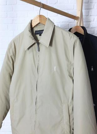 Мужская куртка от yves saint laurent оригинал