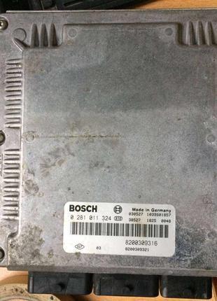 Б/у блок управления двигателем Renault Laguna 2, 1.9dci,