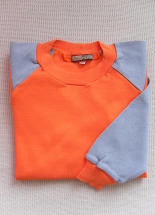 Кофта бомбер пуловер реглан светрик на мальчика 4 года на хлоп...