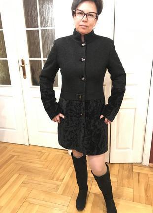 Распродажа, турецкое пальто из буклированной шерсти с искусств...