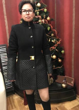 Распродажа, турецкое пальто из шерсти с кашемиром со стеганным...
