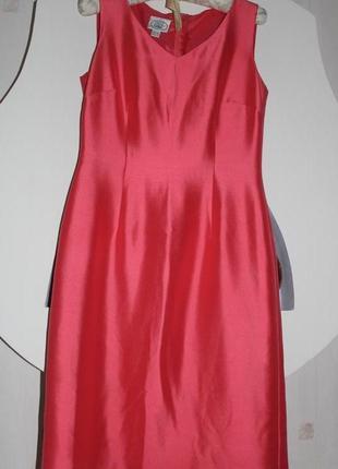 Laura ashley вечернее нарядное шелковый костюм платье max mara