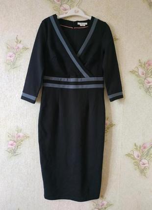 Плотное платье миди карандаш boden