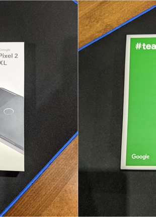 Google Pixel 2 XL 64 GB black идеал, полный комплект
