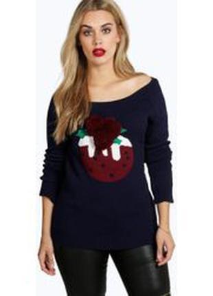 Стильный новогодний свитер реглан свитшот бомбер подарок с 3д ...