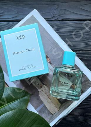 Zara mimosa cloud eau de toilette духи парфюмерия туалетная вода