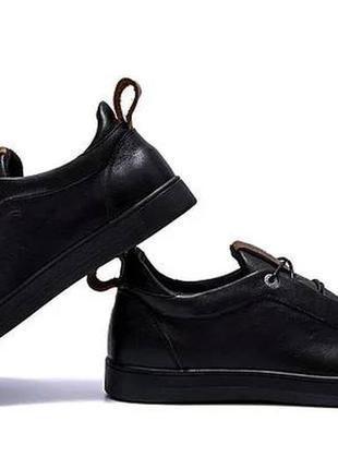 Мужские кожаные кроссовки, мужские кеды