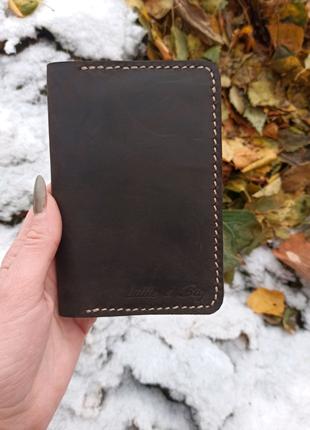 Обложка на паспорт и для документов из натуральной кожи