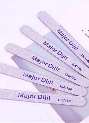 Пилки для ногтей 100/180 маникюра