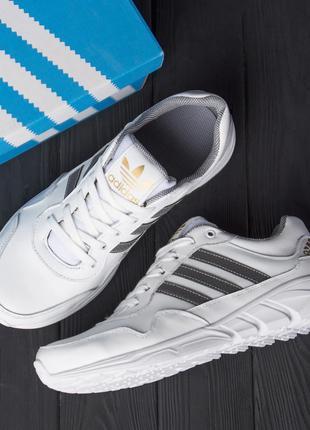 Чоловічі Демісезонні ШКІРЯНІ Кросівки Adidas