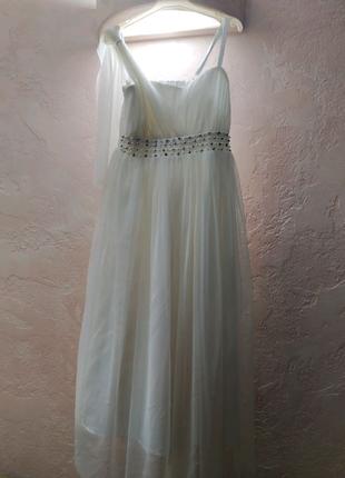 Детское платье, белое