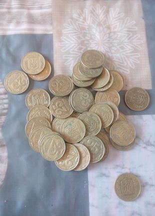 Монеты Украины 25 копеек 1992 года