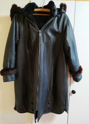 Женское теплое зимнее пальто