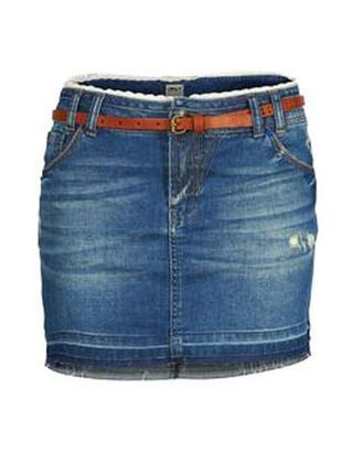 Классная джинсовая юбка Only, S