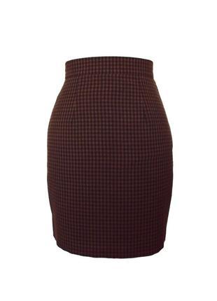 Классическая юбка в клетку Orsay, XS