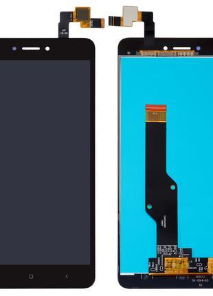 Дисплей Xiaomi Redmi Note 4X с сенсором черный