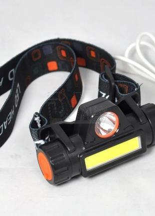 НАЛОБНЫЙ фонарь на аккумуляторе