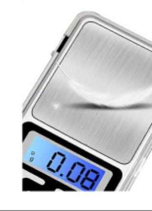 Ювелирные карманные весы ювелірні ваги точность 0,01 гр