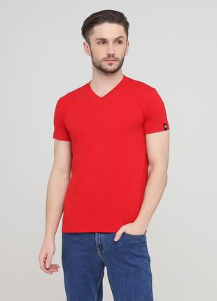 """Футболка """"Only Man"""" (95-TSH-3-02-V-red/small-red-back)"""
