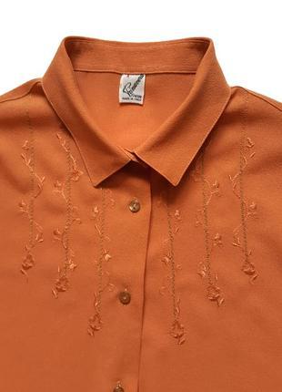 Красивая блузка с вышивкой primavera (италия)