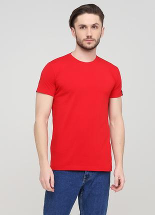 """Футболка """"Only Man"""" (95-TSH-3-02-red/small-red-back)"""