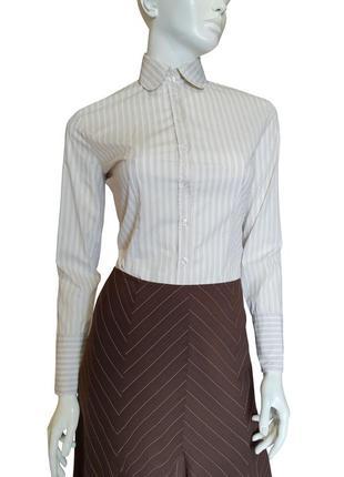 Блузка с длинным рукавом в полоску, размер s-m