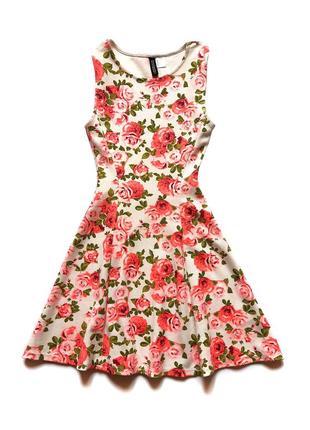 Трикотажное платье H&M, 152 см