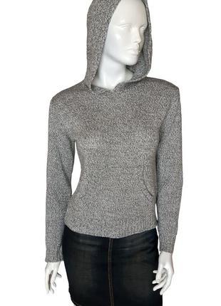 Вязаный свитер h&m с шерстью, М