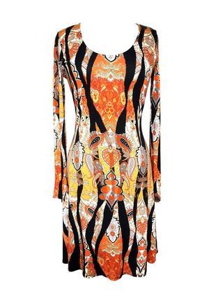 Трикотажное платье wallis с длинным рукавом, сзади молния