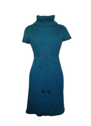 Вязаное платье clockhouse с коротким рукавом