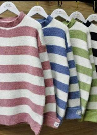 Нереально теплые, мягкие свитерки размер oversize 42-46
