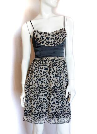 Стильное платье, леопардовый принт