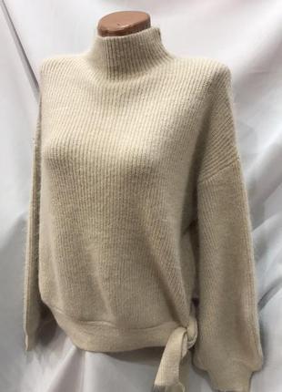 Женский свитер, ангора альпака, размер универсал 46-50 цвета