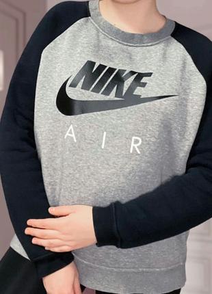 Свитшот утепленный Nike Air оригинал!