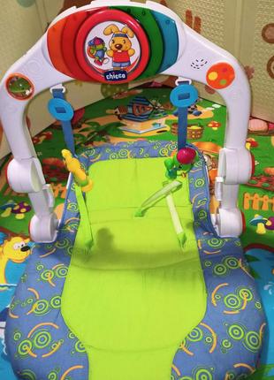 Детский игровой центр, интерактивный развивающий коврик CHICCO