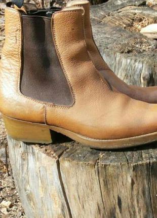 Кожаные мужские казаки premiata италия премиата челси ботинки ...