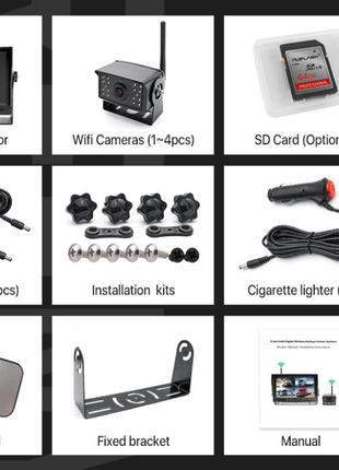 Камери з моніторм на фуру