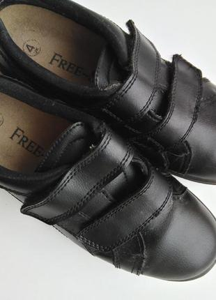 Туфли мокасины на липучка free step 36-37 размер 23 см