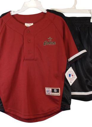 Спортивный костюм шорты футболка для мальчика для спорта амери...
