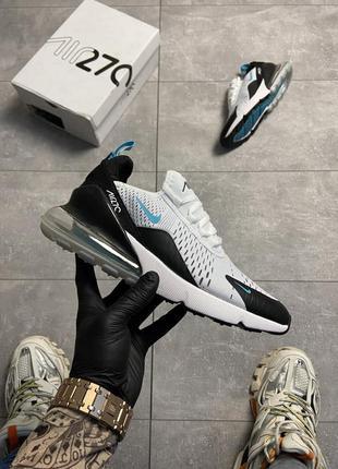 Nike air max 270 teal white