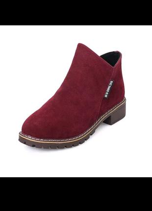 Нові черевики замшеві весна осінь.