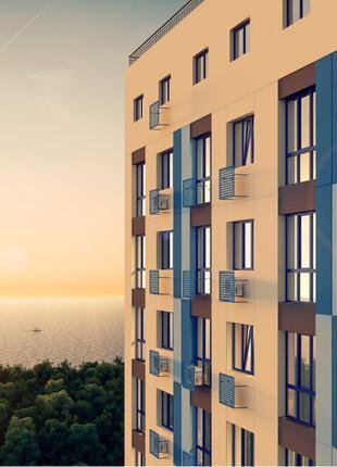 Продам 1 комнатную квартиру в новом доме на 9ст. Большого Фонтана