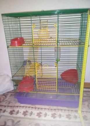 Клетки для  мышей хомяков крыс грызунов