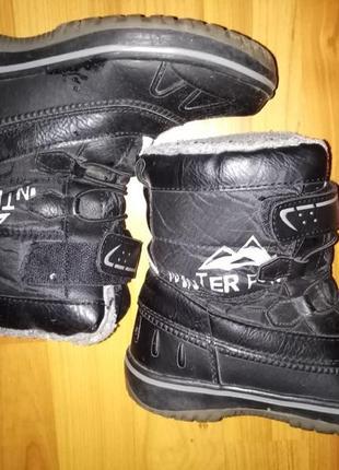 Зимние сапоги ботинки полусапоги детские pepperts