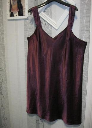 Бельевое платье или голое ночное платье комбинация соблазнител...