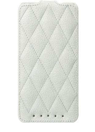 Чехол Vetti Craft Slim Flip HTC One Dual Sim Diamond Series White