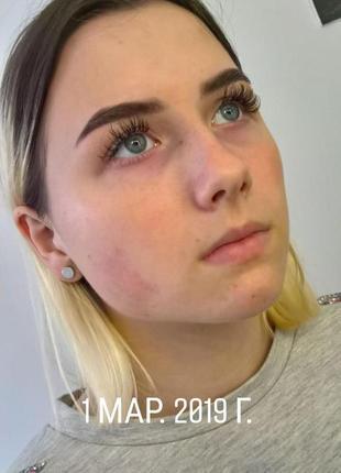 Идеальные брови (краска,хна), макияж профессиональной косметикой.